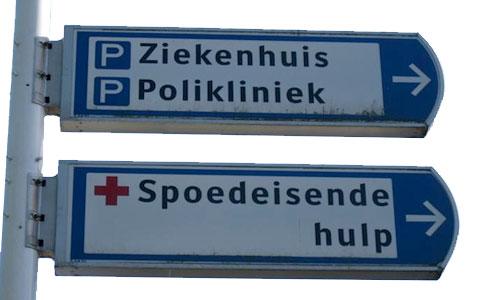 Taxi Linsen Ziekenhuizen